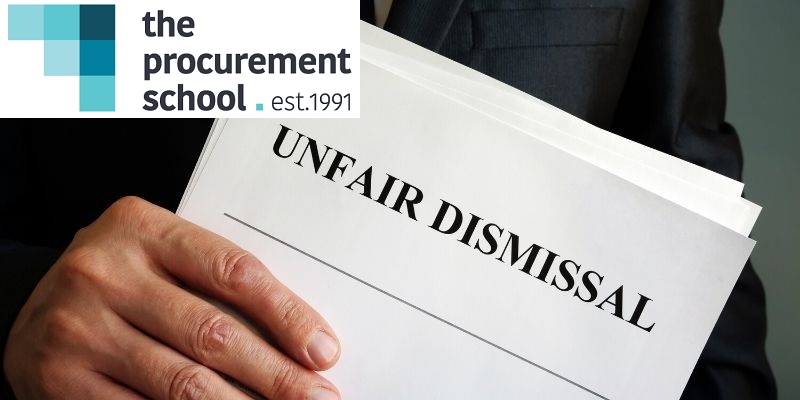 Wrongful dismissal - The Procurement School